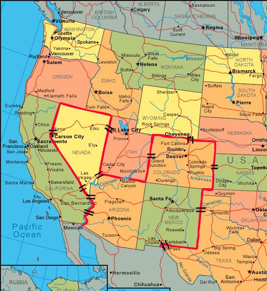 General Dissent I Have Eyes And They Dont Like What They See - Us map of southwestern border